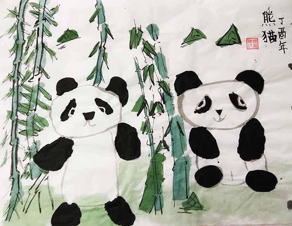 壁纸 大熊猫 动物 1000_775